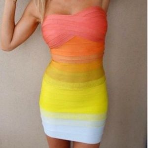 Dresses & Skirts - Never Worn: Strapless BodyCon Party Dress